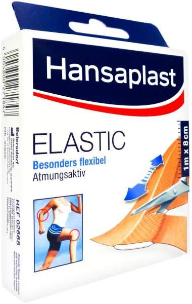 Hansaplast Elastic Pflaster 1 M X 8 cm 1 Stück