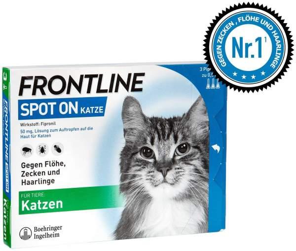 Frontline Spot On Katze vet. Lösung 3 Applikationen