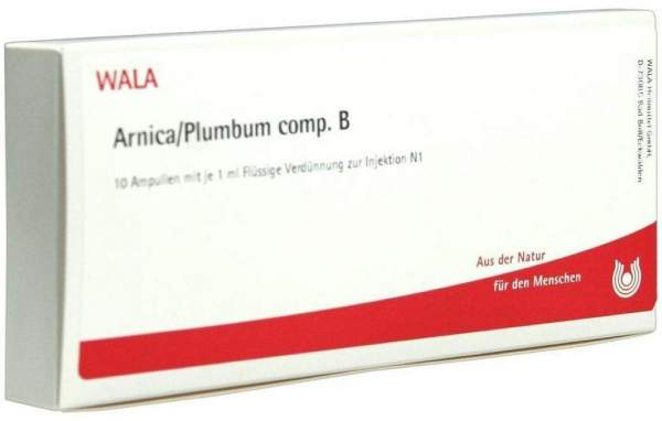 Arnica-Plumbum Comp. B Ampullen 50 X 1 ml