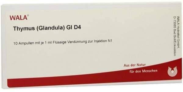 Thymus Glandula Gl D 4 Ampullen