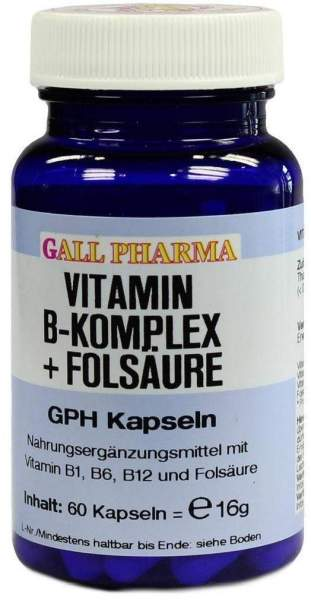 Vitamin B Komplex + Folsäure 60 Kapseln