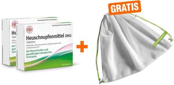 Heuschnupfenmittel DHU 2 x 100 Tabletten + gratis Obst- und Gemüsenetz
