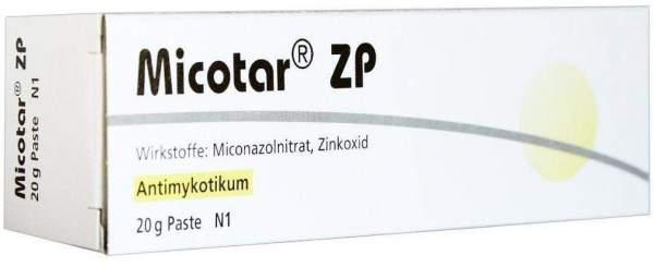 Micotar Zp Paste 20 G Paste