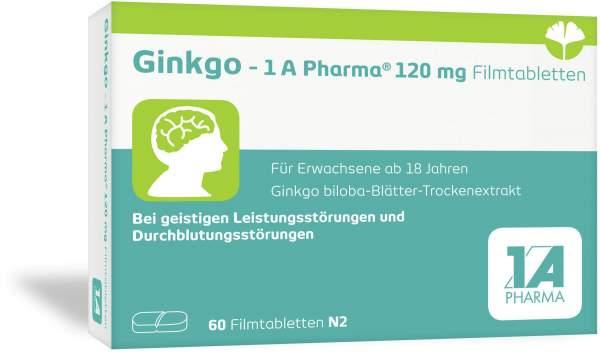 Ginkgo 1a Pharma 120 mg 60 Filmtabletten