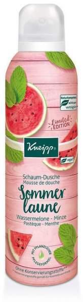 Kneipp SchaumDusche Sommerlaune Wassermelone & Minze 200 ml