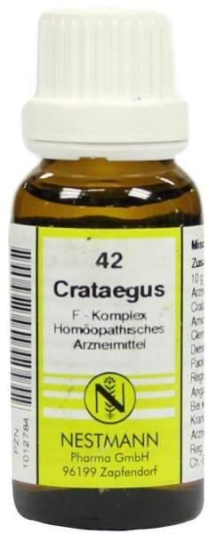 Crataegus F Komplex 42 20 ml Dilution