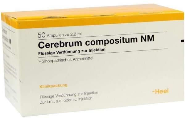 Cerebrum Compositum Nm 50 Ampullen