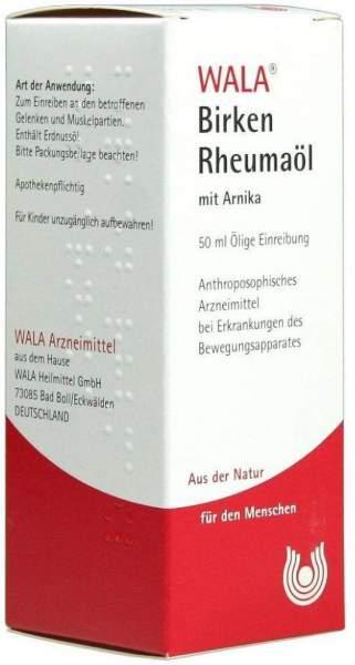 Wala Birken Rheumaöl Mit Arnika 50 ml