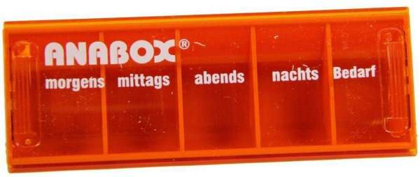Anabox Tagesbox Orange