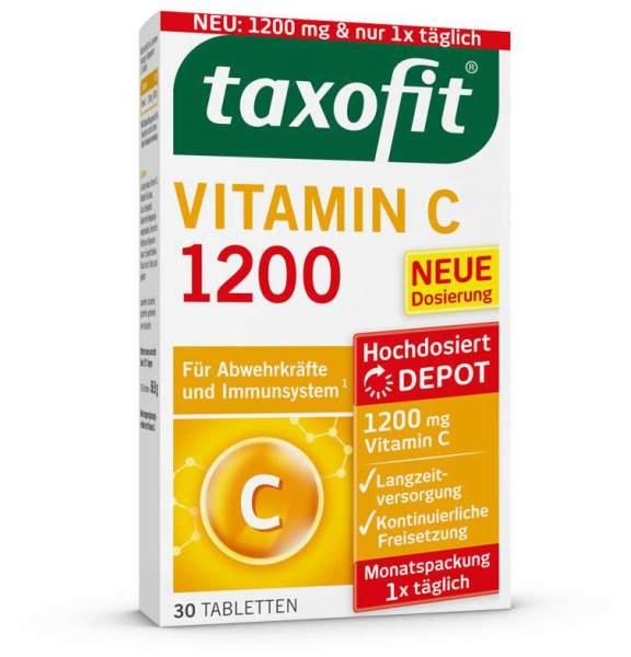 Taxofit Vitamin C 1200 30 Tabletten