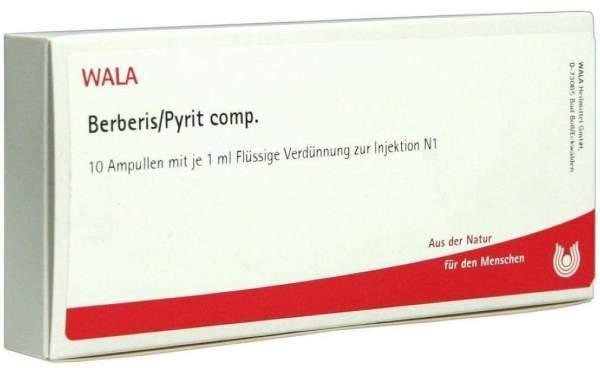 Berberis Pyrit Comp. Ampullen 10 X 1 ml