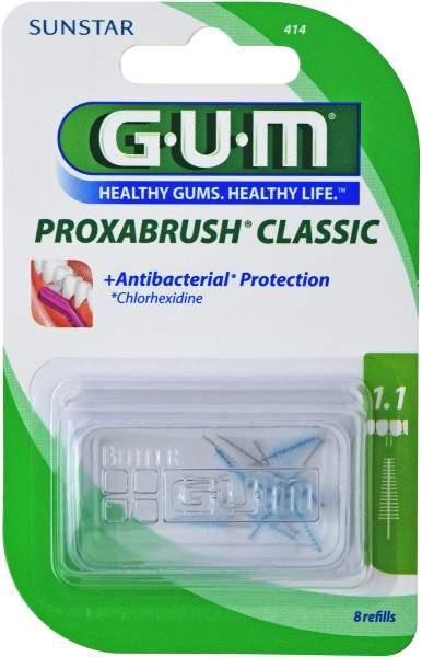 Gum Proxabrush Ersatzbürsten 0,5mm Tanne