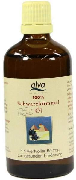 Alva Schwarzkümmelöl 100 ml Öl