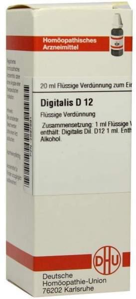 Digitalis D 12 Dilution