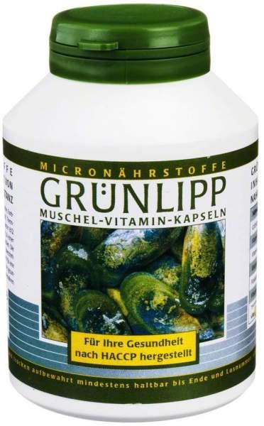 Grünlipp 400 mg + Vitamine 180 Kapseln