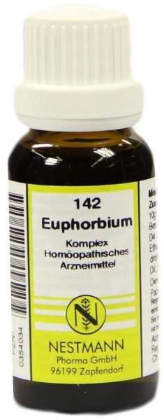Euphorbium Komplex Nr. 142 20 ml Dilution