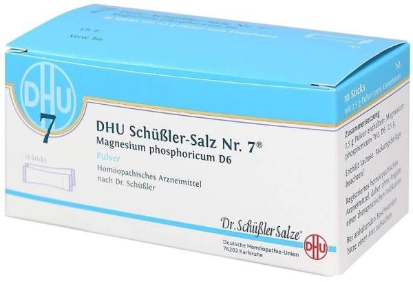 Biochemie DHU 7 Magnesium phoshoricum D6 Pulver 10 Sticks