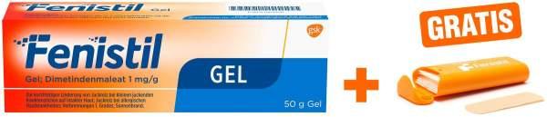 Fenistil Gel 50 g + gratis Pflasterbox