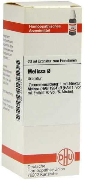 Melissa Urtinktur 20 ml Dilution