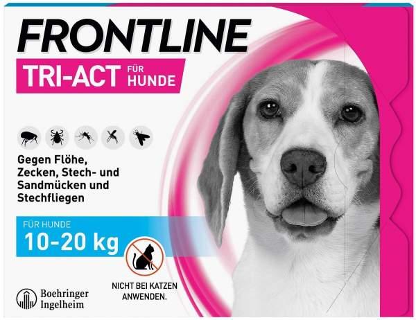 Frontline TRI-ACT Hund 10-20 kg 3 Pipetten