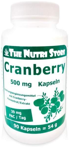 Cranberry 500 mg Kapseln