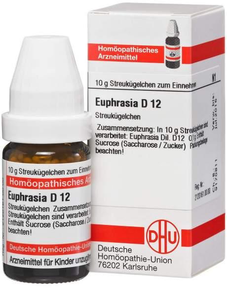 Euphrasia D12 10 G Globuli