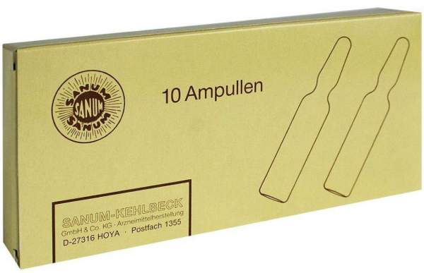 Sanuvis Injektion 10 X 2 ml Ampullen