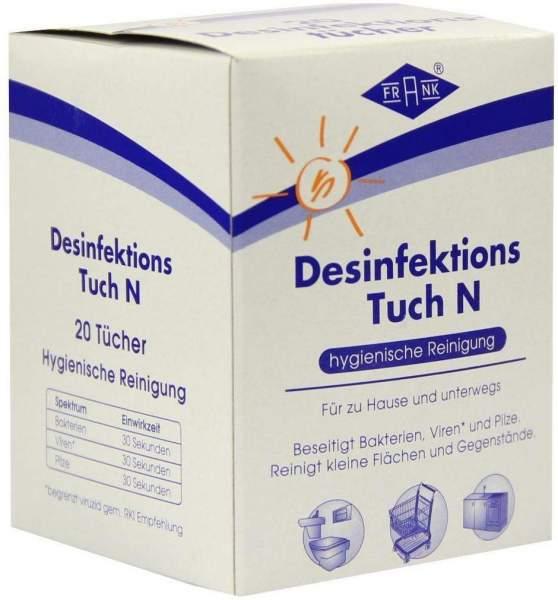 Desinfektionstuch N 20 Tücher