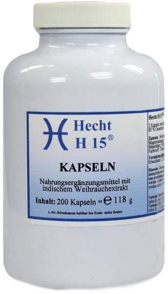 Weihrauch Hecht H15 200 mg 200 Kapseln