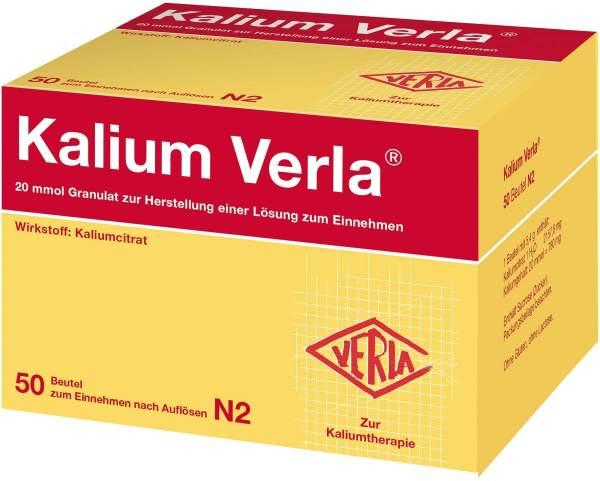 Kalium Verla Granulat 50 Beutel