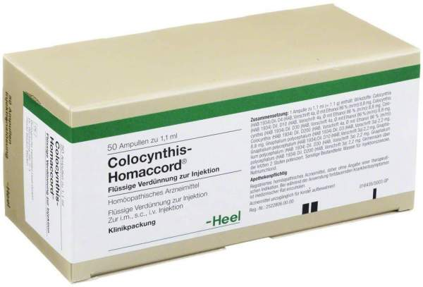 Colocynthis Homaccord Ampullen 50 Ampullen