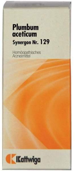 Synergon 129 Plumbum Aceticum Tropfen 50 ml Tropfen