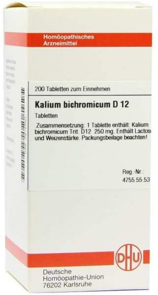 Kalium Bichromicum D12 Tabletten 200 Tabletten