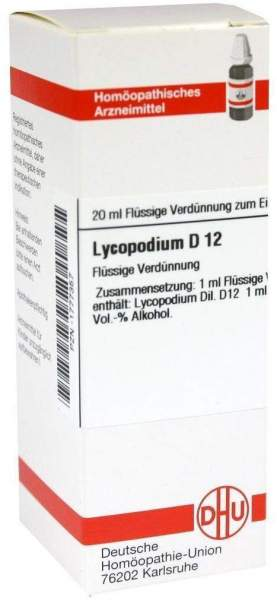 Lycopodium D12 Dilution 20 ml Dilution