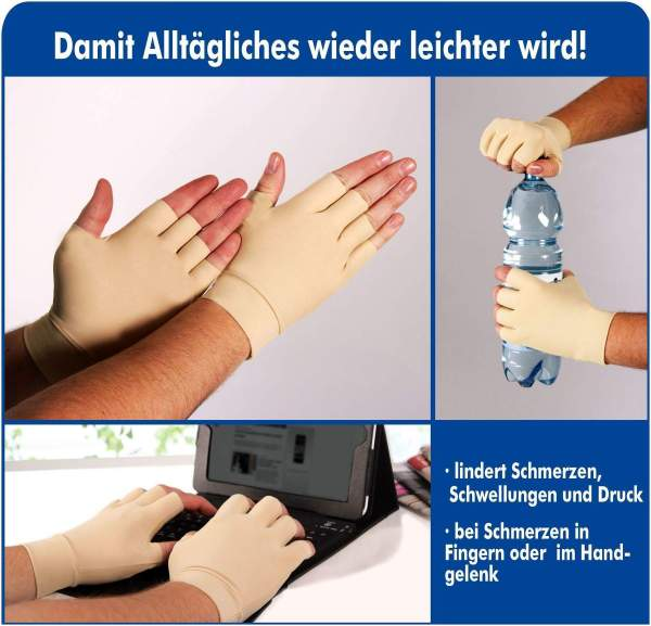 Arthrose Komforthandschuhe