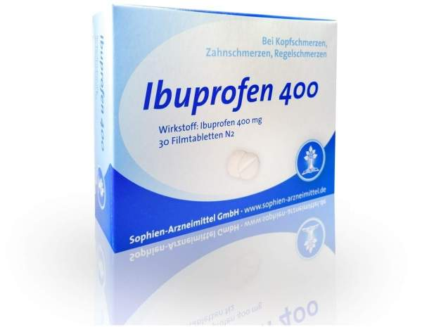 Ibuprofen Sophien 400 30 Filmtabletten
