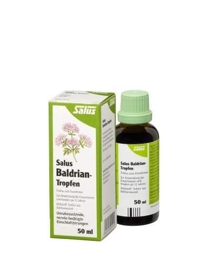 Baldrian Tropfen 50 ml Tinktur Bio Salus