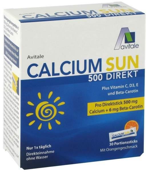 Calcium Sun 500 Direkt 30 Portionssticks