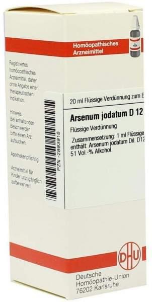 Arsenum Jodatum D 12 Dilution