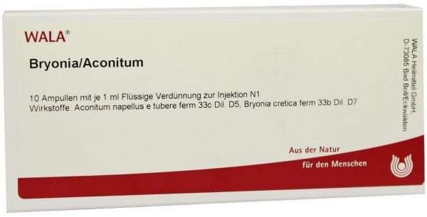 Bryonia Aconitum Ampullen
