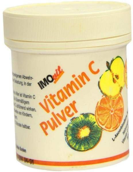 Ascorbinsäure Vitamin C Pulver 100 G Pulver