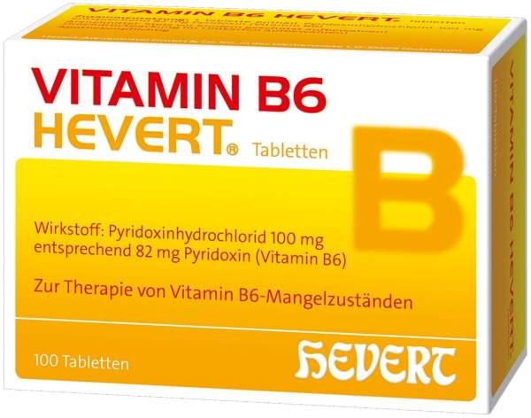 Vitamin B6 Hevert 100 Tabletten