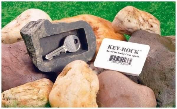 Schlüssel- Stein