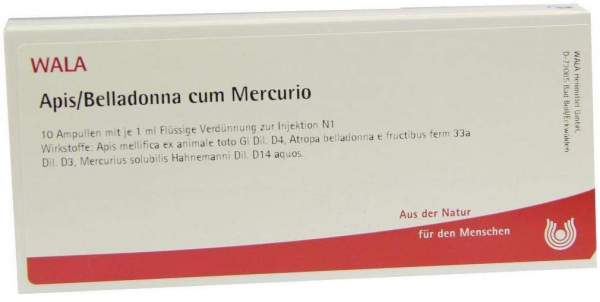 Apis Belladonna C. Mercurio Ampullen 10 X 1 ml