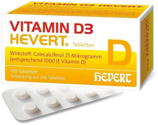 Vitamin D3 Hevert 100 Tabletten