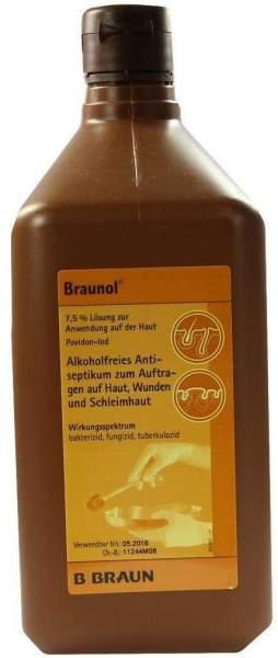 Braunol Schleimhautantiseptikum 1000 ml Lösung