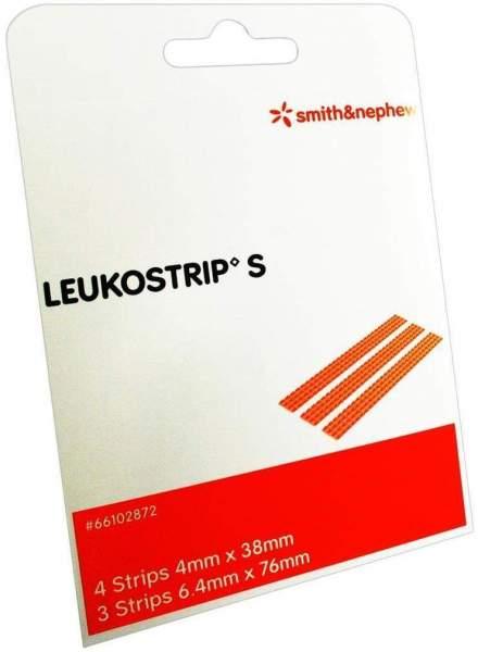 Leukostrip S Wundnahtstreifen 4 Strips 4 mm X 38 mm und 3...