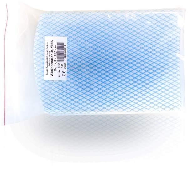 Waschhandschuhe Vlies 14,5x22,5cm 100 Handschuhe