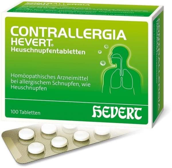 Contrallergia Hevert Heuschnupfentabletten 100 Stück