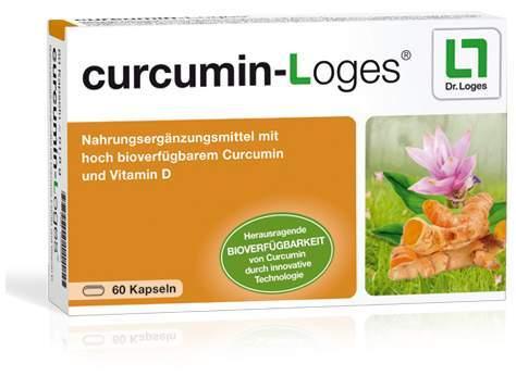 Curcumin-Loges 60 Kapseln